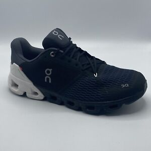 ON CLOUD CLOUDFLYER MEN'S RUNNING SNEAKER SHOES BLACK/ WHITE SIZE 11 Worn Once