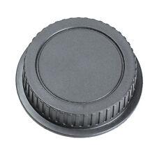 Rear Lens Cap Cover Protector for Canon Rebel EOS EFS EF EF-S EF DSLR SLR Black