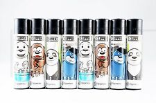8 pcs New Refillable Clipper Lighters Happy Bears Design
