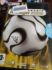 Championship Manager 2006 PC CD-ROM Fußball Fussball Sport Spiel Windows 2000/xp