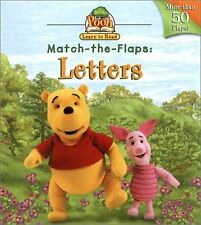 Book of Pooh: Letters (Book of Pooh) Match-the-Fla