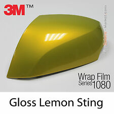 20x30cm LÁMINA Brillante Lemon Sting 3M 1080 G335 Vinilo CUBIERTA Series Carcasa