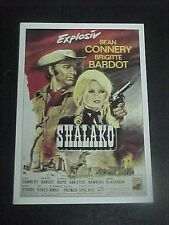 SHALAKO, film card [Sean Connery, Brigitte Bardot, Stephen Boyd]