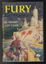 Henry Kuttner - Fury - 1st/1st 1950 in Original DW - Grosset & Dunlap, Nice Copy