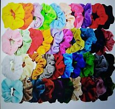 5 Pcs Random Color Hair Scunchies Bun Ring Read Description