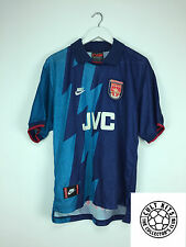 Retro ARSENAL #13 95/96 Away Football Shirt (L) Soccer Jersey Nike