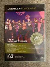 Les Mills BODY COMBAT 63 DVD, CD, notes bodycombat