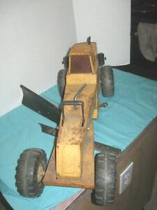 "Vintage Mighty Tonka Yellow/Orange 24 1/2"" Road Grader 54726"