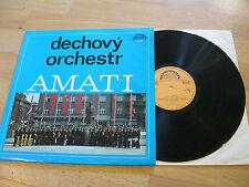 LP Dechovy Orchestr Orchester  AMATI Amati Kraslice Supraphon CSSR Vinyl 1141898