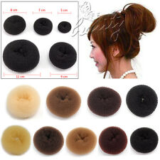 NEW STYLE Hair Chignon Donut Bun Maker Ring French Rolls S M L XL XXL