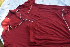 Womens Pajamas SET Tops+Shorts Short Sleeve Nightwear Lingerie V-Neck Sleepwear