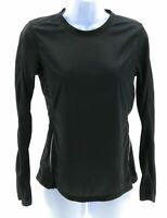 Womens Top Size Small Black Long Sleeve