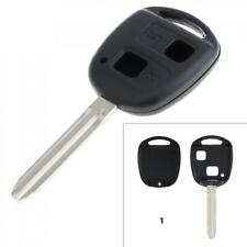 Car Key Shell Cover 2 Button Replacement fit for Toyota Corolla RAV4 PRADO YARIS