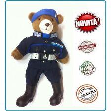 Orsetto Bear Orso Peluche Con Divisa Polizia Penitenzi Ordine Pubblico 53 Italia