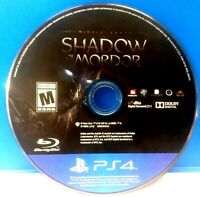 Middle-earth: Shadow of Mordor (Sony PlayStation 4, 2014)(DISC ONLY) #18551