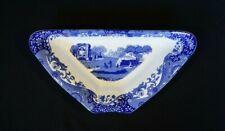 Beautiful Copeland Spode Italian Blue Triangular Serving Bowl