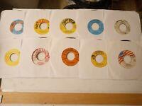 "Reggae Oldies / Dancehall 7"" Vinyl Lot #2 Free Shipping"