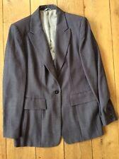 Grey Next Ladies work suit 16 trousers 18 Jacket lined