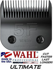 WAHL ULTIMATE COMPETITION Pet Grooming #5F BLADE*Fit Most Oster,Andis Clippers