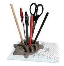 New Fun Hedgehog Office Desk Tidy Prickly Pen Holder Novelty
