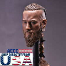 "1/6 Viking Captain Head Sculpt For For 12"" Headplay Hot Toys Male Figure USA"