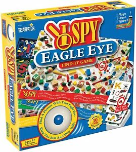University Games 'I Spy Eagle Eye Find It' Game,age 5+, family matching game,NEW