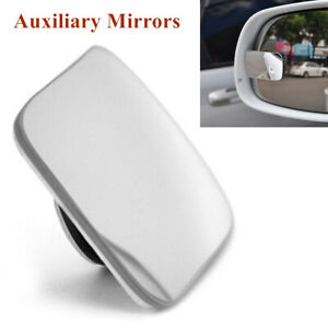 1PC Car Rearview Blind Spot Wide Angle Adjustable Rimless Rear Auxiliary Mirror