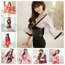 b27895e8cd Sexy Women Japan Kimono Pajamas Robes Bathrobe Petites Homewear Nightwear
