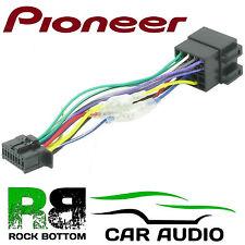 PIONEER DEH-1400UB Model Car Radio Stereo 16 Pin Wiring Harness Loom ISO Lead