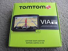 Brand New TomTom VIA 1505M 5-Inch Portable GPS Navigator with Lifetime Maps