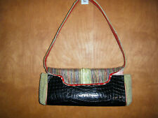 Spencer & Rutherford Tapestry Clutch Purse w/Detachable Strap