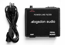 Audio Amp and Gear Power Line Filter EMF/RFI Suppression removes noise