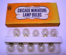 Vintage 20 Bulbs Chicago Miniature # 94, 12.8V, Auto/Marine Use, New in Orig.Box
