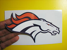 "BEST PRICE!! LOT OF 10 NFL DECAL/ STICKER DENVER BRONCOS 6"" X 3.5"""