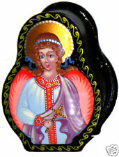 Russian hand painted Angel Box