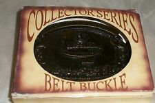 Belt Buckle In Original Box Keesler All American Whiskey Collector Series