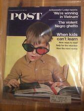 The Saturday Evening Post Magazine July 29, 1967 We're Winning In Vietnam