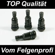 Metallventil Metallventile Stahlventil Schwarz für Alufelgen  11,3mm VW