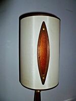 Eames Atomic Mid-Century Vintage Retro LAMP w/ shade (teak?) danish