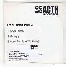 (FN946) Free Blood Part 2, Royal Family - DJ CD