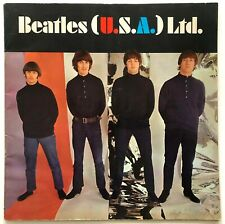 BEATLES (U.S.A.) LTD. 1966 ORIGINAL TOUR CONCERT PROGRAM BOOK