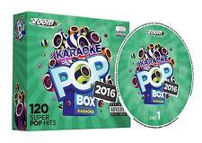 CDG - Zoom Karaoke Pop Box 2016 - 120 Pop Hits - 6 Disc CD+G Set
