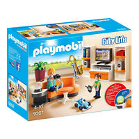 Playmobil City Life Living Room Building Set 9267 NEW IN STOCK