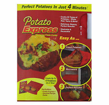 Microwave Express Baked Potato Cooking Bag Fast Quick Home Washable Cooker Tool