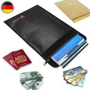 Feuerfeste Dokumententasche Feuersichere Geldkassette Dokumentensafe Wasserdicht