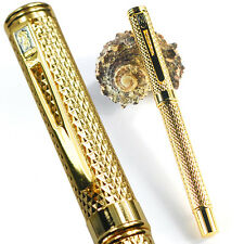 Crocodile 218 Golden Net Rain Roller Ball Pen Business