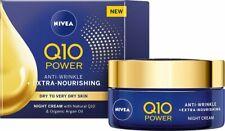 NIVEA Q10 Power Anti-Wrinkle & Extra Nourishing Night Cream 50ml Very Dry Skin