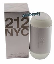 212 By Carolina Herrera 3.4oz/100ml Edt  Spray For Women New In Box