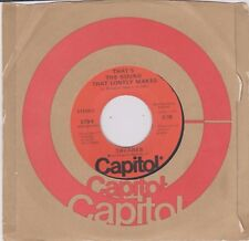 TAVARES {70s Funk Soul} THAT'S THE SOUND THAT LONELY MAKES / LITTLE GIRL ♫hear