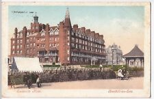 Sussex; Bexhill On Sea, Sackville Hotel PPC, 1905 PMK to Mrs Gibbs, Lewisham
